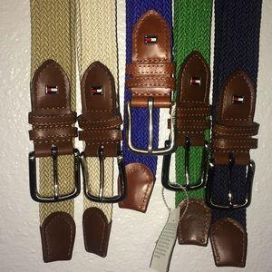Tommy Hilfiger rope belts